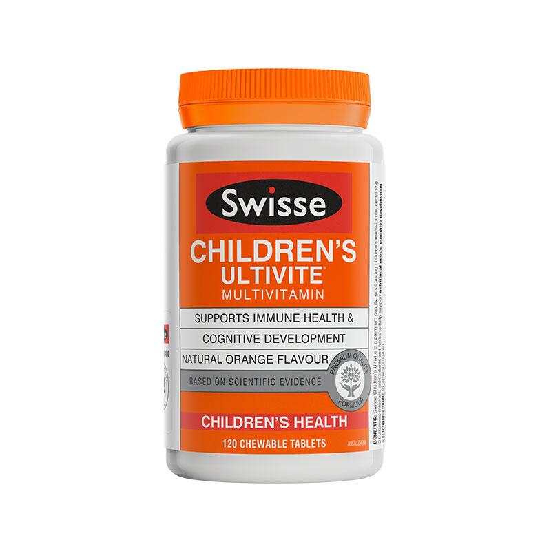 Swisse 兒童復合維生素咀嚼片 120片
