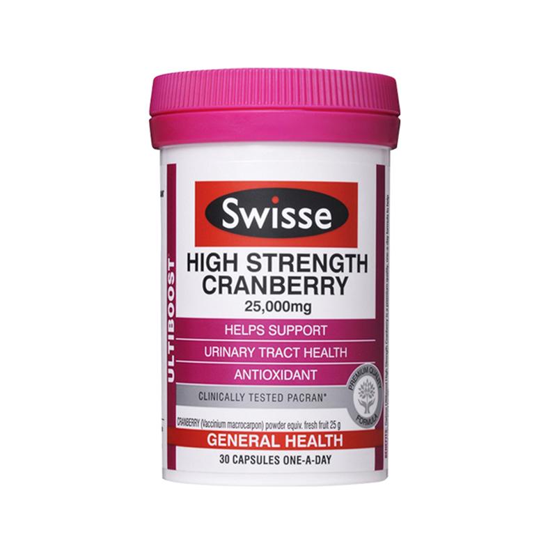 Swisse 高濃度蔓越莓膠囊 30粒