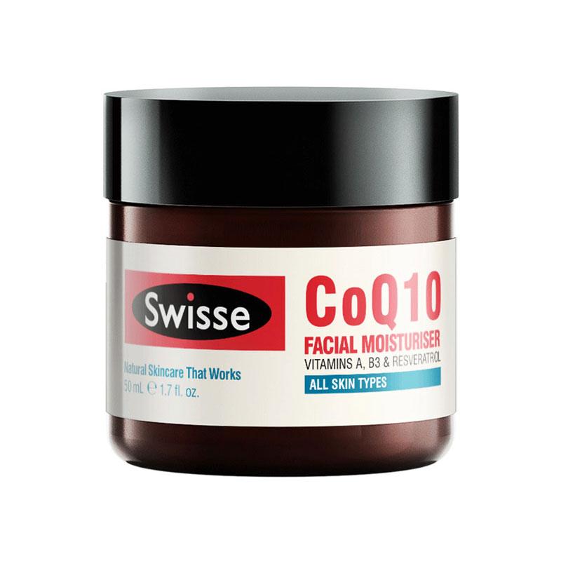 Swisse 辅酶Q10抗衰老面部保湿霜 50ml