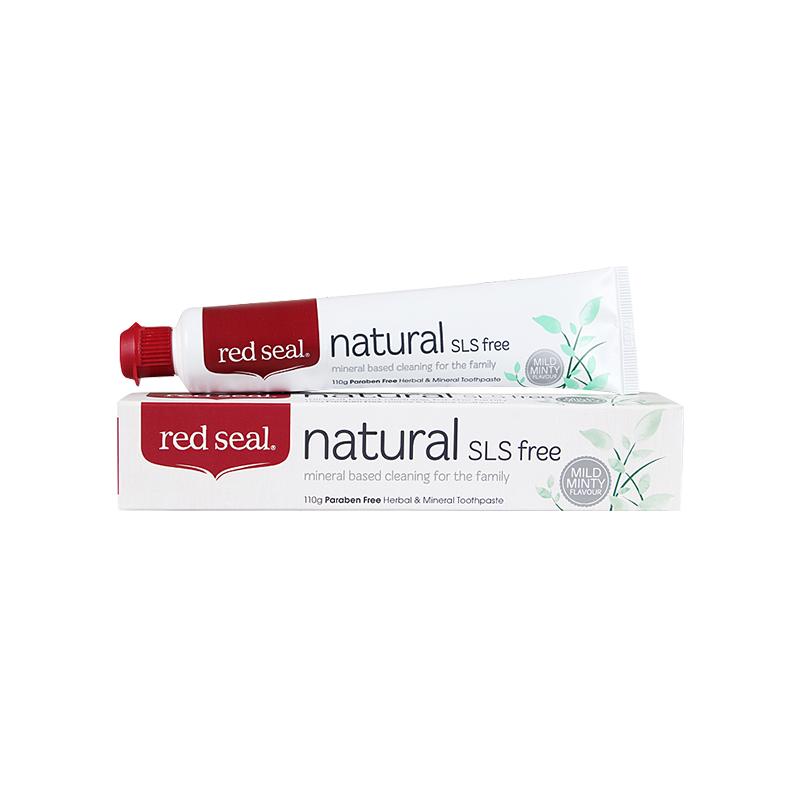 Red Seal 紅印 天然礦物質牙膏SLS free 110g