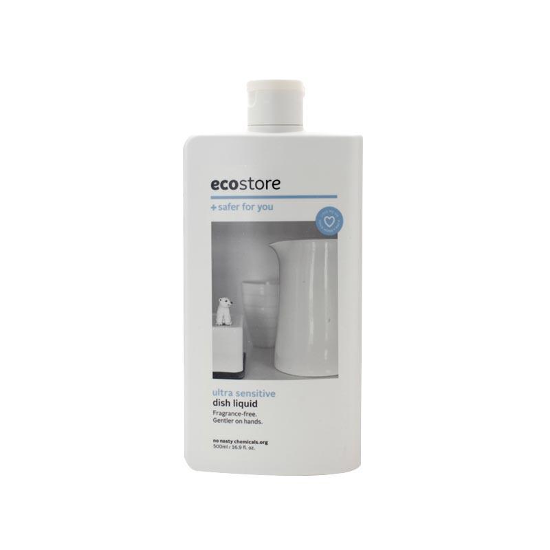 ecostore 純植物餐具清洗劑洗潔精 無香型 500ml 孕婦和敏感膚質可用