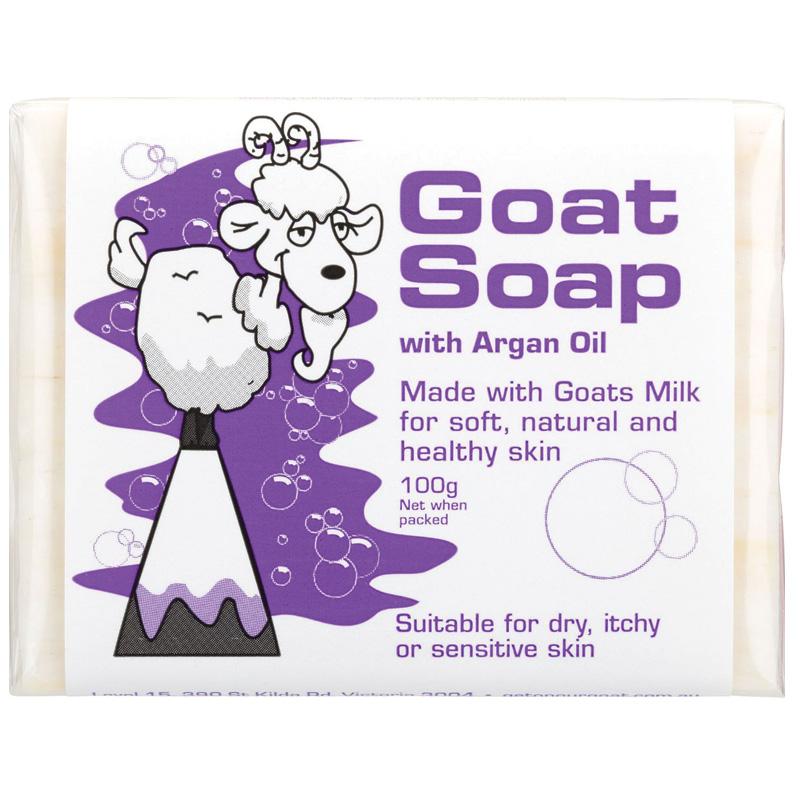 Goat Milk 摩洛哥堅果油羊奶皂 100g