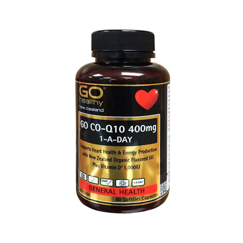 Go healthy 高之源 Q10護心膠囊 60粒