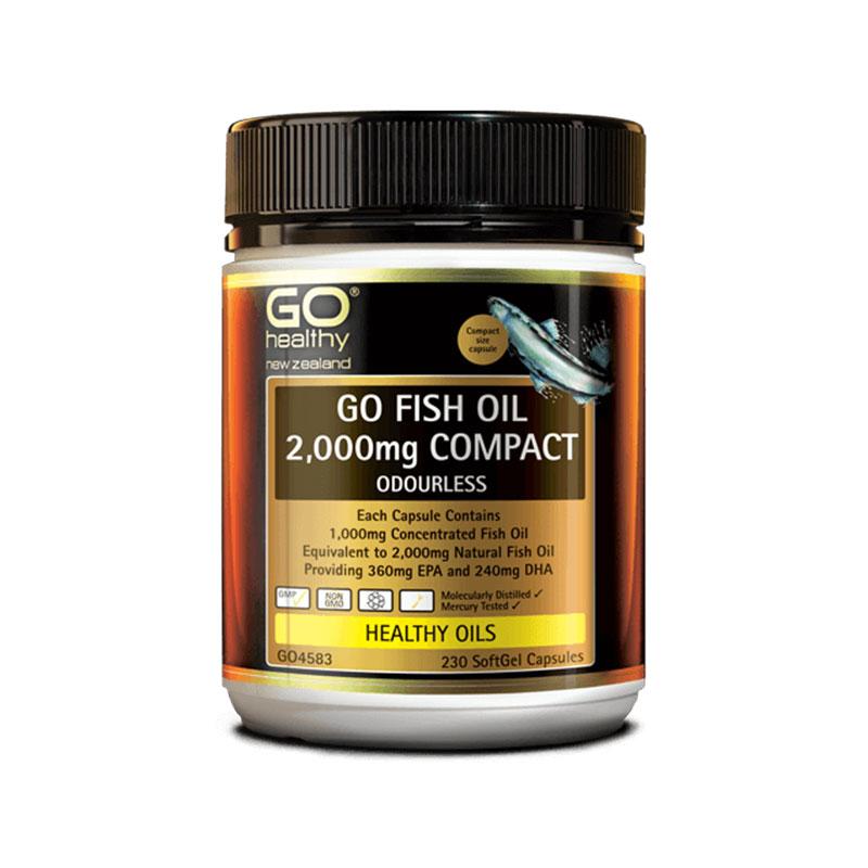 Go Healthy 高之源 高含量深海無腥魚油2000mg 230粒