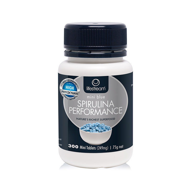 Lifestream 高藻蓝蛋白活力螺旋藻片 300片 提高免疫