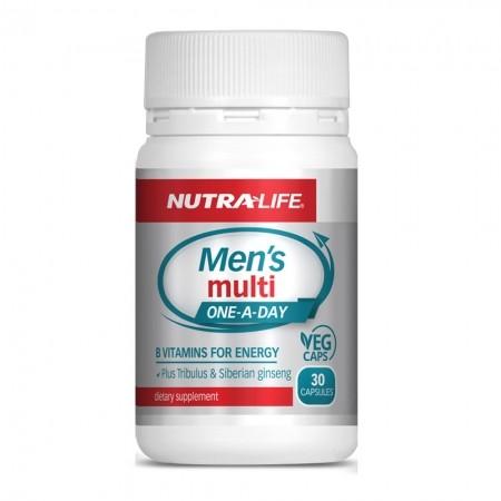 Nutralife 紐樂 男性綜合維生素 30粒