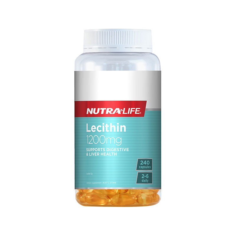 Nutralife 紐樂 高含量卵磷脂1200mg 240粒