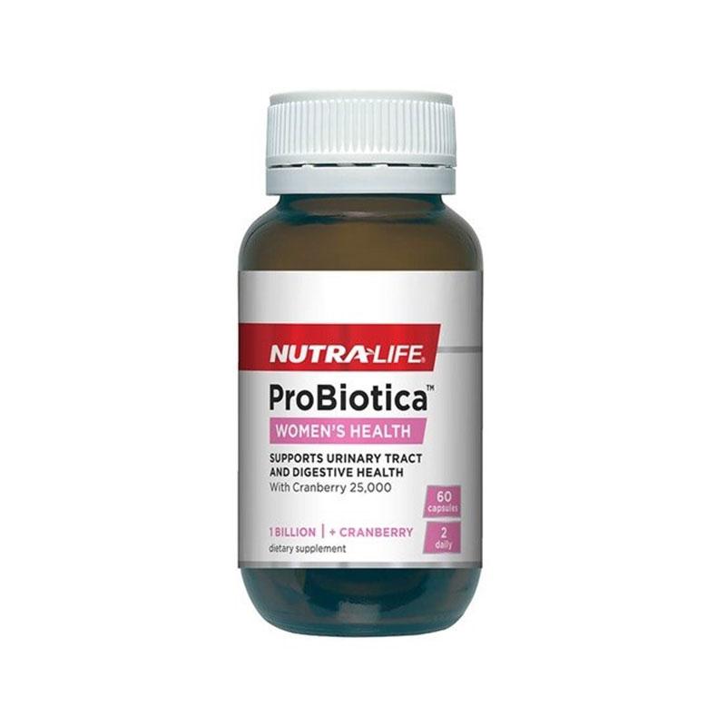 Nutralife 紐樂 女性益生菌膠囊 60粒 含蔓越莓25,000 每日2粒隨餐