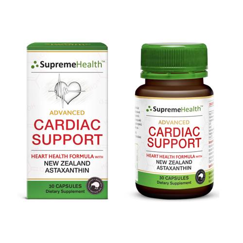 Supreme Health 新西蘭天然蝦青素超級護心寶 6mg/粒 30粒