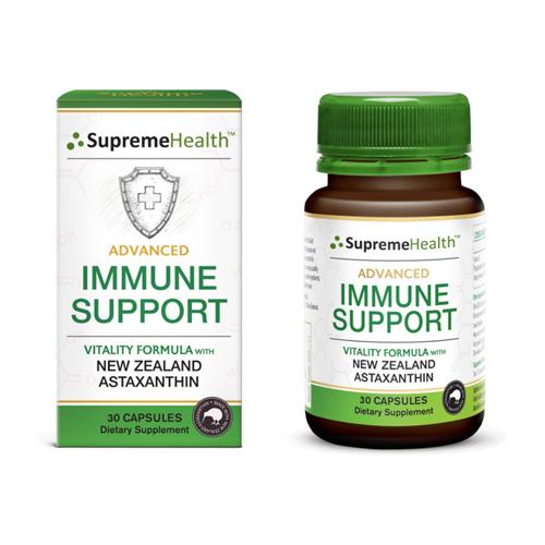 Supreme Health 新西蘭天然蝦青素超級強化免疫膠囊 4mg/粒 30粒
