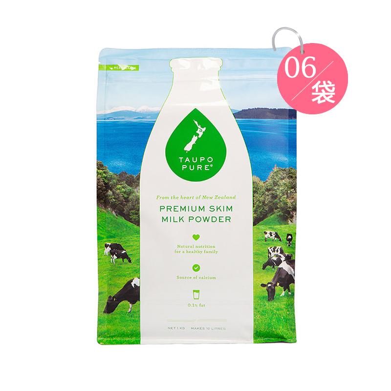 Taupo Pure 特貝優 脫脂高鈣成人奶粉 1kg*6袋裝