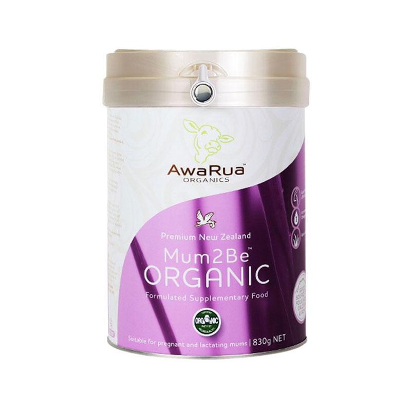 AwaRua 小綠牛阿瓦魯有機孕產婦奶粉 830g