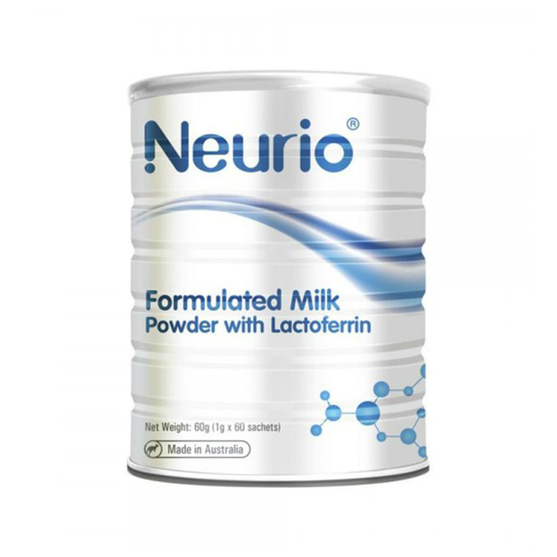 Neurio 紐瑞優 嬰幼兒乳鐵蛋白粉 增強免疫力 1g*60袋