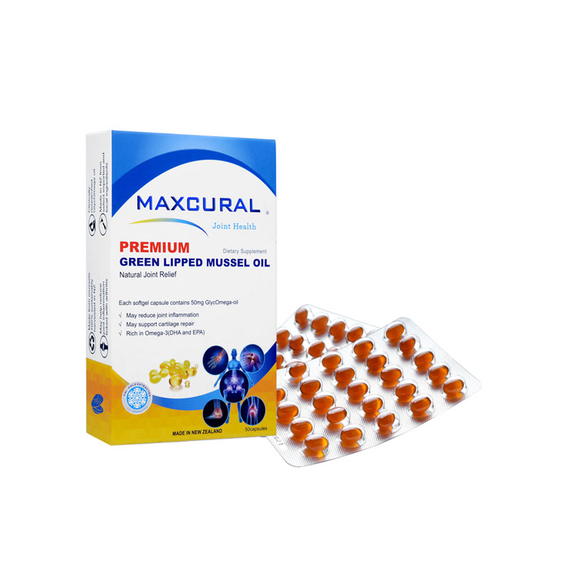 Maxcural 邁可樂 增強版關節修復軟膠囊 50p
