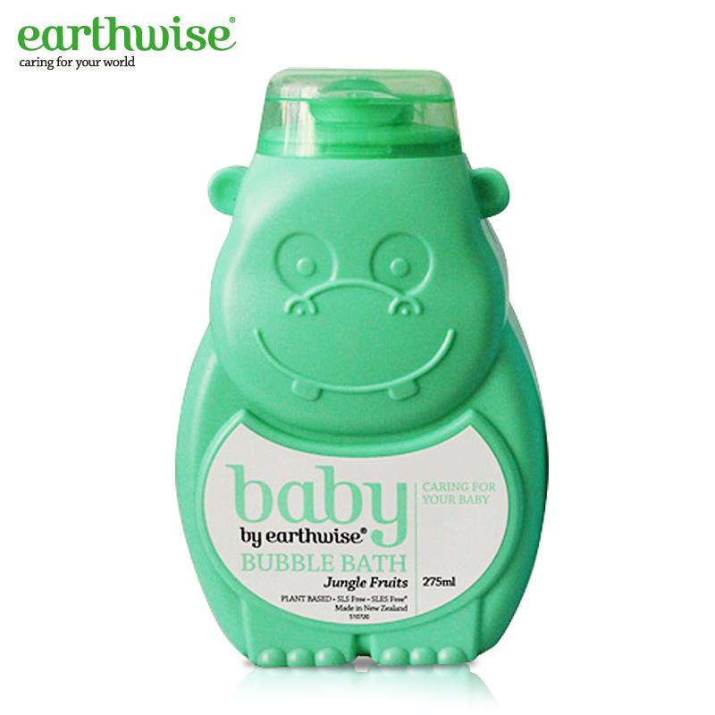 Earthwise 绿色河马 宝宝婴儿羊奶泡泡浴 275ml