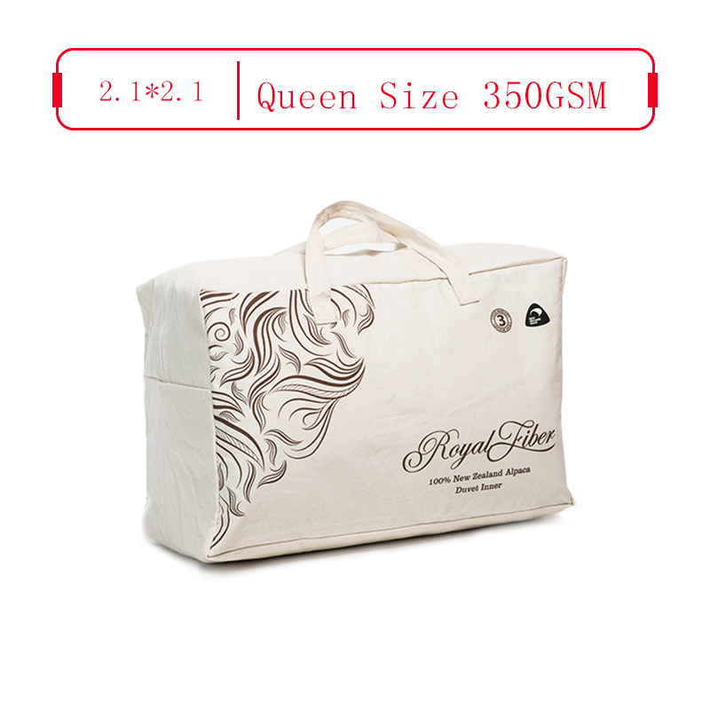 Royal Fiber 春秋駝羊被 350GSM 防雨面料 Queen Size 2.1*2.1