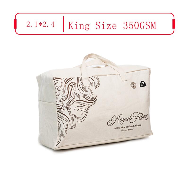 Royal Fiber 春秋駝羊被 350GSM 防雨面料 King Size 2.1*2.45