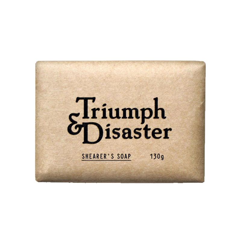 T&D 男士溫和磨砂香皂 130g